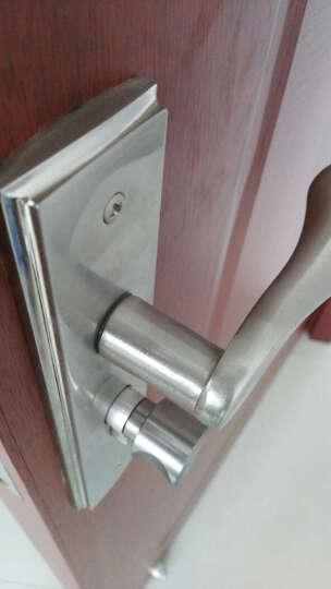 GULI 固力门锁插芯双舌卧室门锁室内门锁房门锁LX5003 A1 SN LX5003 A1 镍拉丝 门边距40mm 晒单图