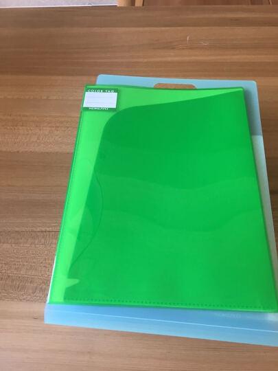 国誉(kokuyo)竖款多层手提式风琴包多层文件袋收纳试卷DFC65 蓝色 A4 晒单图