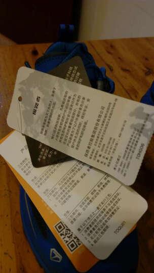 探路者(TOREAD) 户外秋冬男女情侣跑鞋KFFE91364/92364 深灰/浅流蓝-女 37 晒单图