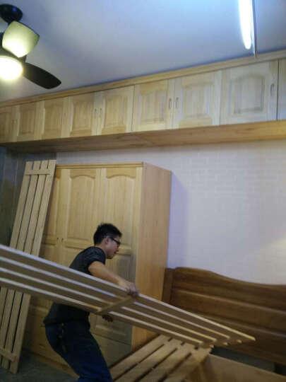 纽菲乐 实木衣柜 新西兰松木家具 木质衣柜 1.2 1.6米衣橱带抽 两三四门衣柜 全实木 四门1.6米衣柜(五包价) 晒单图