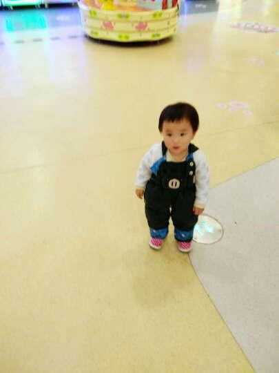 童小鸭之星(TONGXIAOYAZHIXING) 儿童羽绒服宝宝背带裤男女童羽绒裤可开档 17紫 120 晒单图