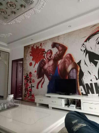 枫彩 网吧主题壁纸壁画3D墙画墙纸 LOL盲僧游戏主题壁画工装炫酷背景墙主题会展定制 (无缝) 宣绒纸  89元/平米 晒单图