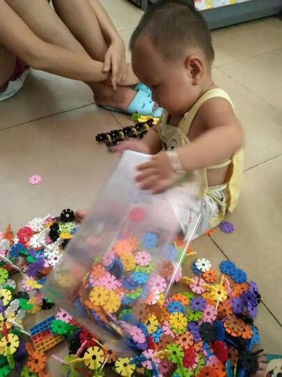 拼搭积木 益智组合幼儿园塑料雪花片数字拼插片 儿童益智学习玩具 数字雪花-大箱装 晒单图