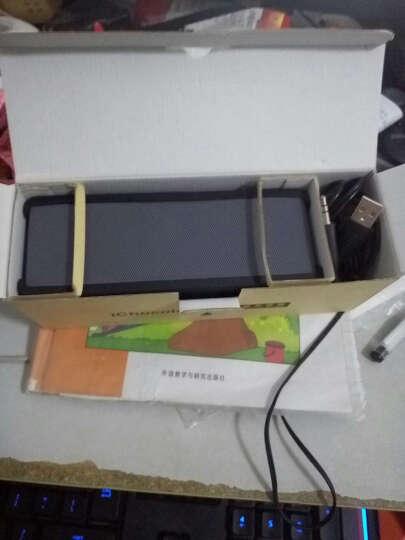 魅动迷你巧克力蓝牙音箱 电脑音响无线低音炮便携式车载迷你小手机 黑色 升级版15W 晒单图