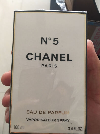 香奈儿(Chanel) 【关注店铺领5元券】NO.5香奈儿5号女士香水香奈儿香水 五号之水100ml新款现货 晒单图