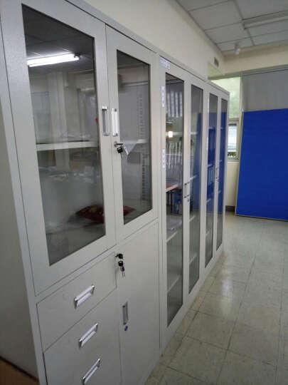 昊乐兴 文件柜资料柜带锁抽屉凭证柜办公铁皮柜储物柜 大器械柜 经济款-厚度0.6mm 晒单图