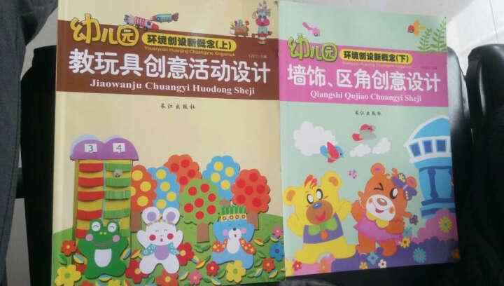 幼儿园环境创设新概念(下)上 教玩具创意活动设计 墙饰区角创意设计2册 晒单图