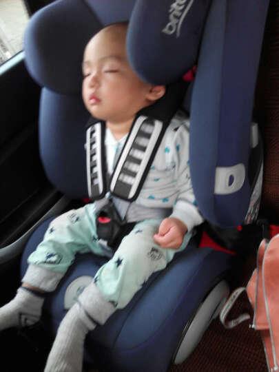 宝得适(Britax) britax宝得适超级百变王白金版9月12岁汽车儿童安全座椅 曜石黑 晒单图
