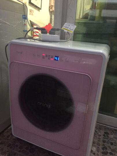 小吉(MINIJ)6 全自动小型滚筒迷你洗衣机 小婴儿内衣变频儿童宝宝 95°高温煮洗 DD变频 甜心粉MINIJ 6-P 晒单图