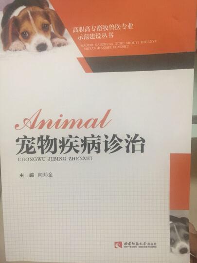 宠物疾病诊治/高职高专畜牧兽医专业示范建设丛书 晒单图