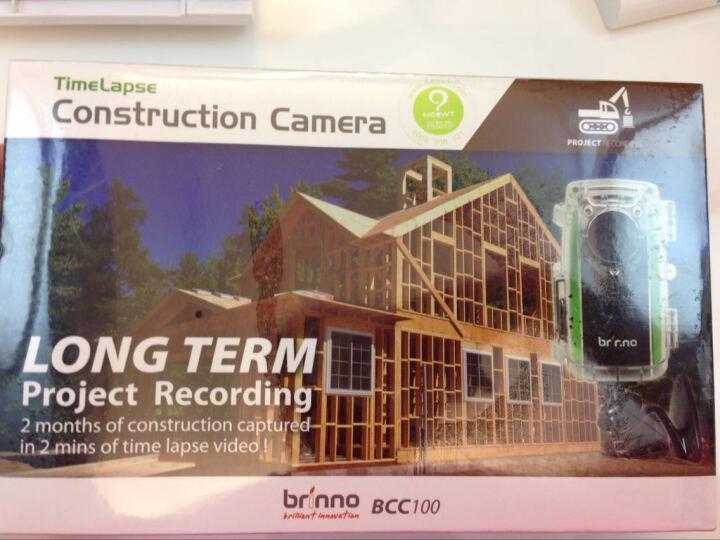 Brinno BCC100超广角缩时拍 定时拍摄 延时摄影相机 建筑工程施工记录 广角摄像机 无线防水施工记录摄像 晒单图