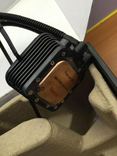 安耐美(Enermax) 安耐美CPU水冷散热器SCT铜头状态灯ELC-LM120S水冷 120S-HP 晒单图