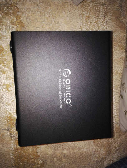 奥睿科(ORICO)9548RU3 全铝四盘位抽取式RAID磁盘阵列柜 免工具3.5英寸串口硬盘盒 USB3.0硬盘柜  黑色 晒单图