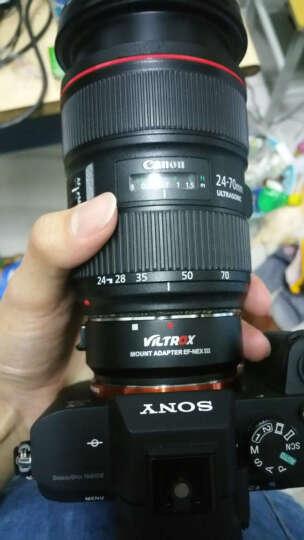 唯卓(VILTROX)EF-NEX III自动对焦转接环 佳能镜头转索尼nex微单全画幅 A7R S 可调光圈,自动对焦,防抖 晒单图
