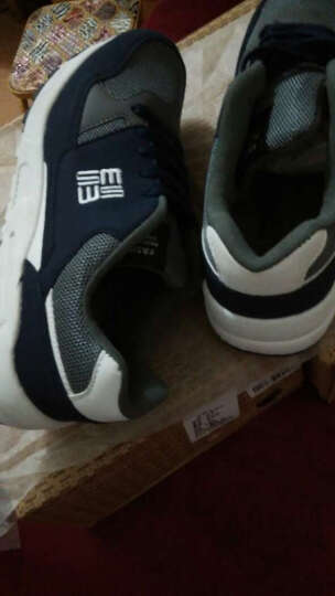 Matehom跑步鞋男鞋 2016新款透气舒适运动鞋休闲鞋慢跑鞋 M1519-宝蓝 42 晒单图