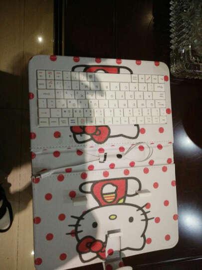 群宝腾键盘OPPO R9手机套R9plus手机壳r7plus R7s外壳R11 Plus 键盘皮套(粉色) 晒单图