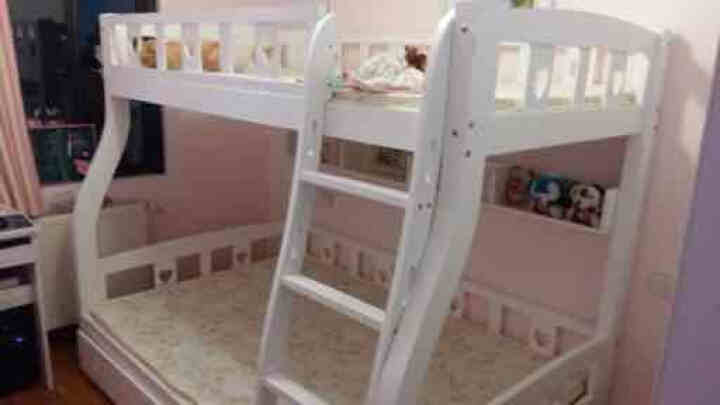 儿童床 松木床