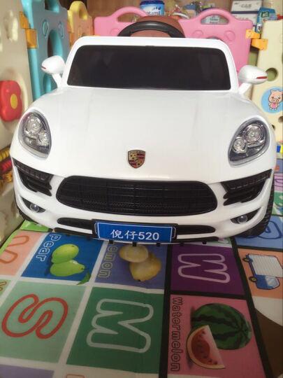 福儿宝(FUERBAO) 儿童电动车四轮可坐带遥控音乐早教电动小汽车 宝宝玩具儿童车 中国红+摇摆功能+发光轮(合适1-6岁的宝宝) 晒单图