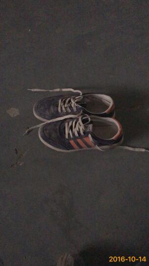 LUCCST男士休闲鞋 春夏季男鞋透气学生鞋 韩版户外运动板鞋 男生鞋子男款2203 蓝桔 41 晒单图