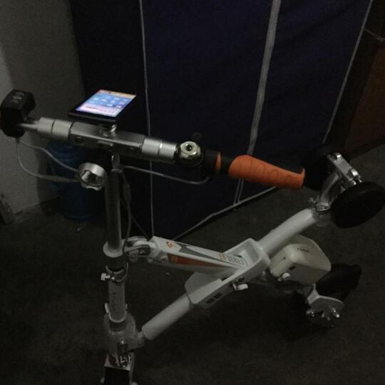 Airwheel爱尔威E6电动车 电动自行车滑板车电动折叠车代步车电瓶车锂电池男女通用 经典白 晒单图