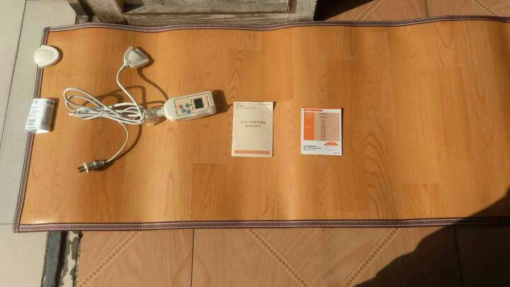 多朗 暖脚板办公室地暖垫 暖脚宝插电暖脚垫 办公室电热毯 取暖器地热垫 200*300 2280W 晒单图