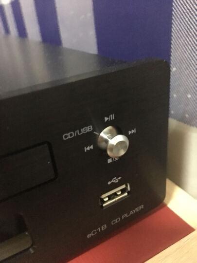 新款山灵 EC1B 发烧迷你CD播放机 HIFI音响 桌面CD音响转盘 U盘输入 黑色 晒单图