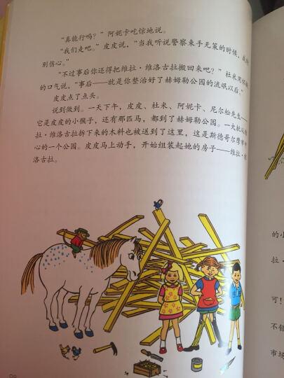 长袜子皮皮 幼儿图书 绘本 早教书 儿童书籍 晒单图