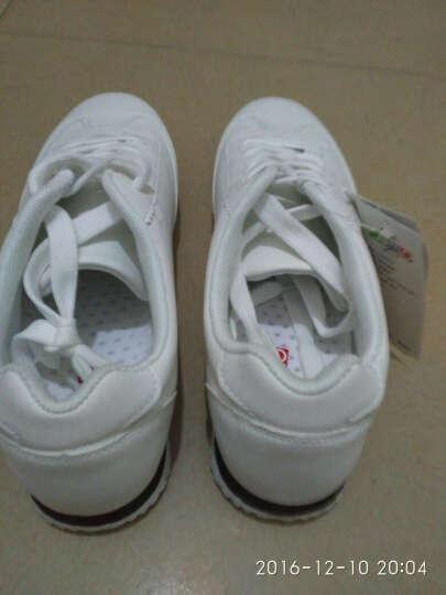 卡帝乐 品质男鞋 户外百搭小白鞋 经典商务休闲鞋 加绒白色 41 晒单图