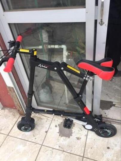 折悦 (A-BIKE)折叠自行车8寸8秒折叠铝镁合金男女通用支持货到付款 金色 晒单图