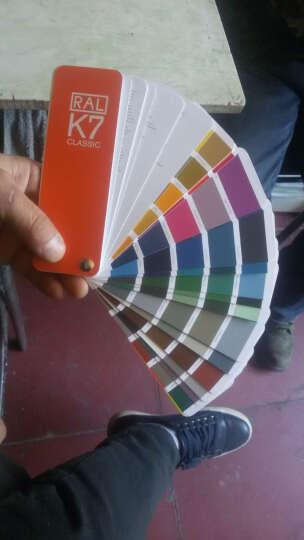 新版德国劳尔ral色卡 K7 D9 国际标准 油漆涂料色板工业调色色卡本 晒单图