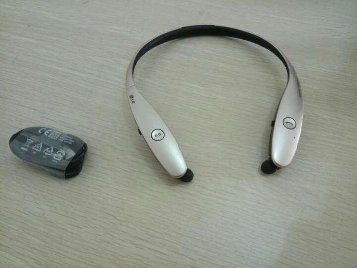 LG HBS-900 蓝牙耳机 运动耳机 手机耳机 项圈入耳式 Harman Kardon音频技术 可通话 白色 晒单图