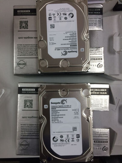 希捷(SEAGATE)V4 6TB 7200转128M SAS 企业级硬盘(ST6000NM0034) 晒单图