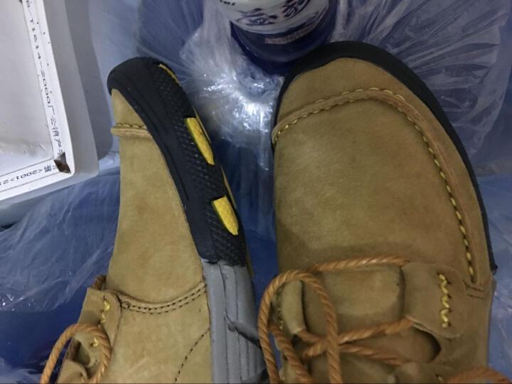 西域骆驼(VANCAMEL)男鞋新款透气男士运动户外类休闲皮鞋 52蓝色 40 晒单图