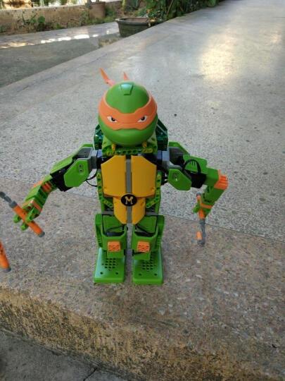 优必选Jimu积木忍者龟智能机器人玩具 儿童益智电动拼装唱歌跳舞互动动作编程遥控机器人玩具 米开朗基罗-APP遥控积木智能机器人 晒单图