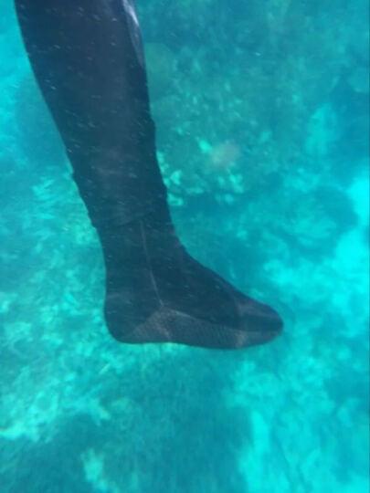 THENICE/浮潜袜 潜水袜子 高密度加厚袜底防滑防海胆防刺浮潜装备专业袜套 玫瑰红色 XS 晒单图