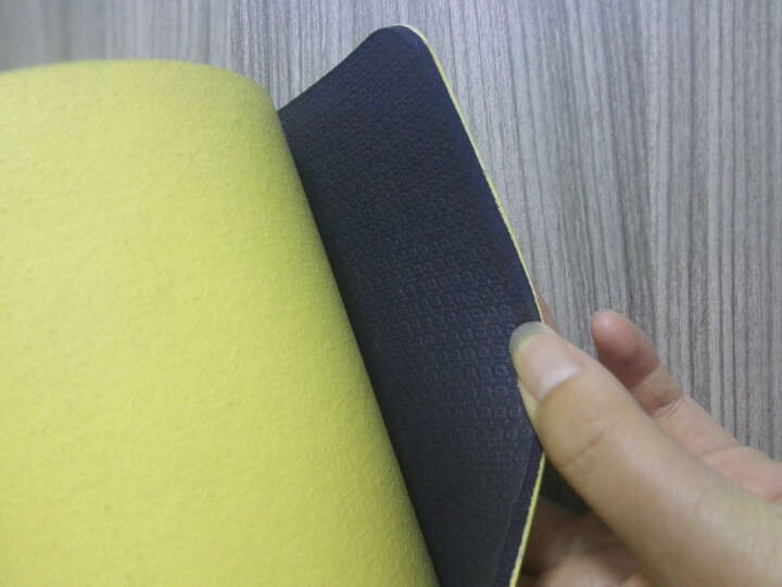 平衡派瑜伽垫台湾进口天然橡胶TPE健身瑜伽垫5mm厚183cm运动缓冲减震防滑健身垫 浪漫优雅灰 5mm(资深型) 晒单图
