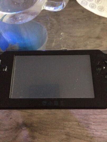 小霸王掌机PSP游戏机 4.3英寸触屏儿童GBA街机王内置万款经典游戏摄像MP5 黑色8G标配+16G卡 晒单图