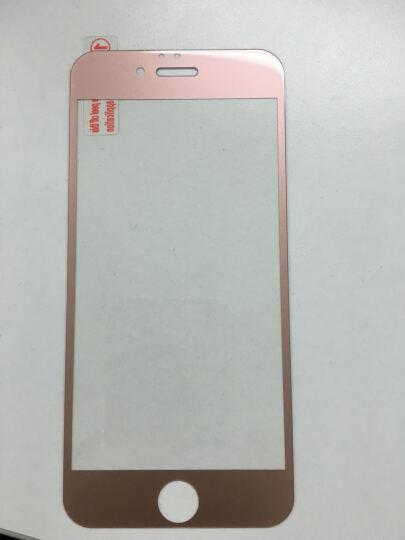 拓恩 苹果6S全屏覆盖钢化玻璃膜/手机保护贴膜 适用于iPhone6/6S/6S Plus 4.7英寸全屏钢化膜-玫瑰金 晒单图