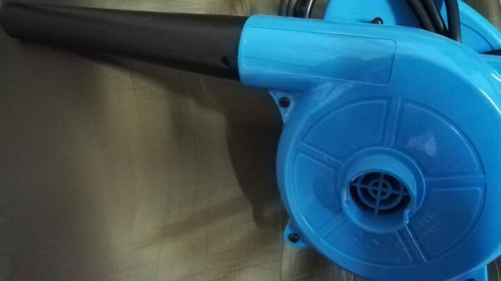 易锐吸吹风机 专业网吧电脑除尘机 家用多功能大功率鼓风机 蓝色定速款1.8米长电源线 晒单图