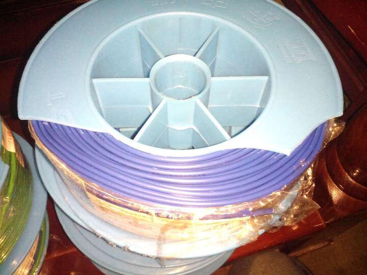 远东电线电缆(FAR EAST CABLE)BV2.5平方国标家装插座用单芯单股铜芯电线100米 双色地线 晒单图