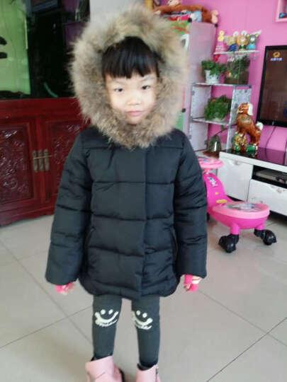 华诺(huanuo) 宝宝羽绒服男女儿童冬季幼小童0-1-2-3岁中长款冬装婴儿衣服外套 红色羽绒服 毛领可拆卸 加厚保暖 110 晒单图
