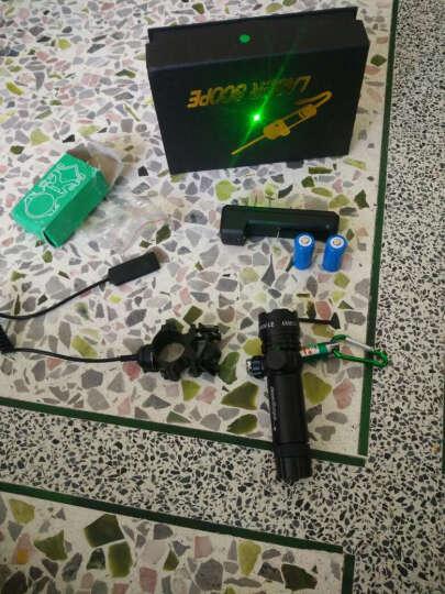 红外线绿外线 激光镭射超低管夹可充电上下左右可调支架 轨道定位圆管9-23mm 不适配消音器等套件勿拍 晒单图