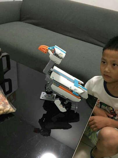 优必选 JIMU积木玩具智能机器人 电动遥控拼装模型儿童玩具 积木智能机器人--探索者 晒单图