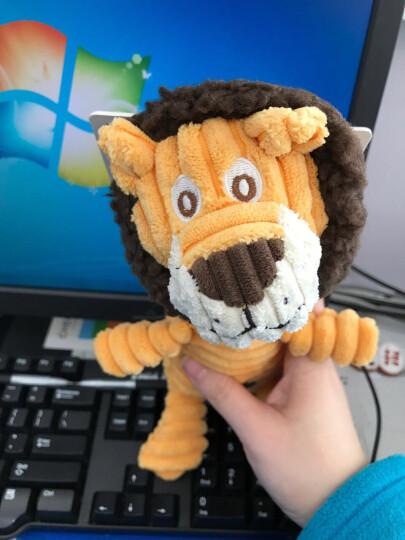 绮敏CharmingPet狗狗玩具泰迪金毛耐咬磨牙宠物发声玩具 狮子 61198 晒单图