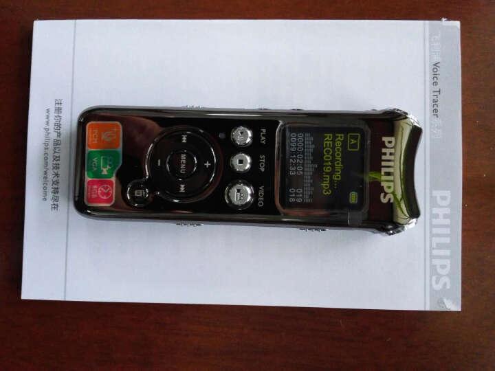 飞利浦(PHILIPS) VTR8000 8GB 执法取证 录音笔 集成摄像头 录像摄像 晒单图