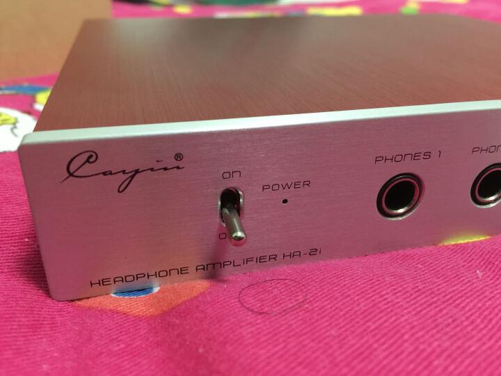 凯音(CAYIN)HA-2i 高保真台式耳机功率放大器 红色 晒单图