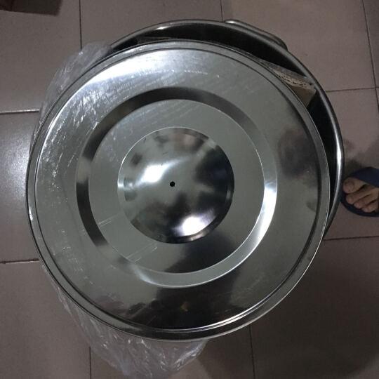 不锈钢商用大容量加深加厚带盖储水桶圆桶油桶