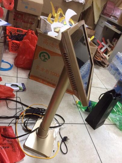 万利达(Malata)家庭KTV点歌机触摸屏一体机卡拉ok套装无线wifi家用点唱机 白金色一体机站立式 2T硬盘 约5万首歌曲 晒单图