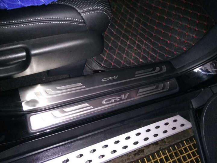 越野兵 12-16款本田CRV不锈钢门槛条 15款新CRV专用迎宾踏板脚踏板护板 专用改装 外置(4片装) 晒单图