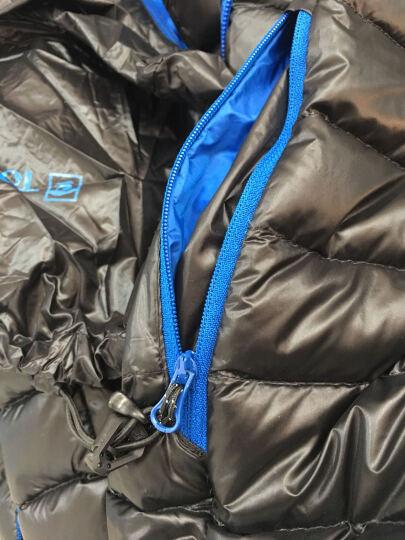 探路者(TOREAD)户外男女羽绒服HADD91081/HADD92080可收纳防绒面料 黑色-男款 L 晒单图